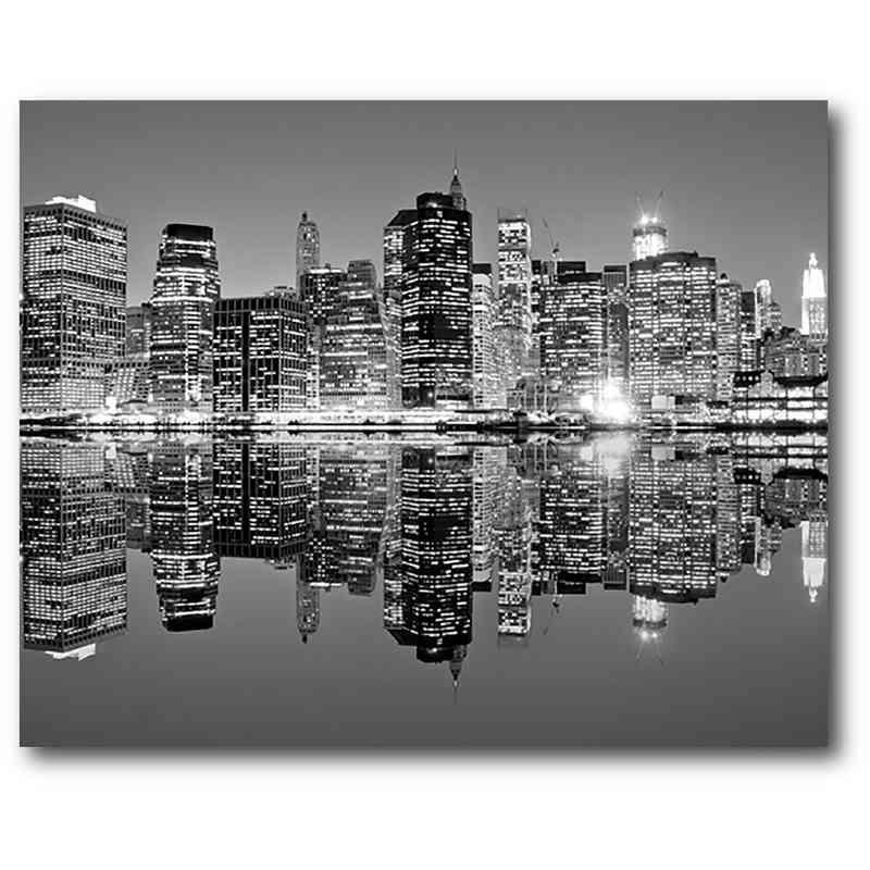 Black & White Cityscape 16\