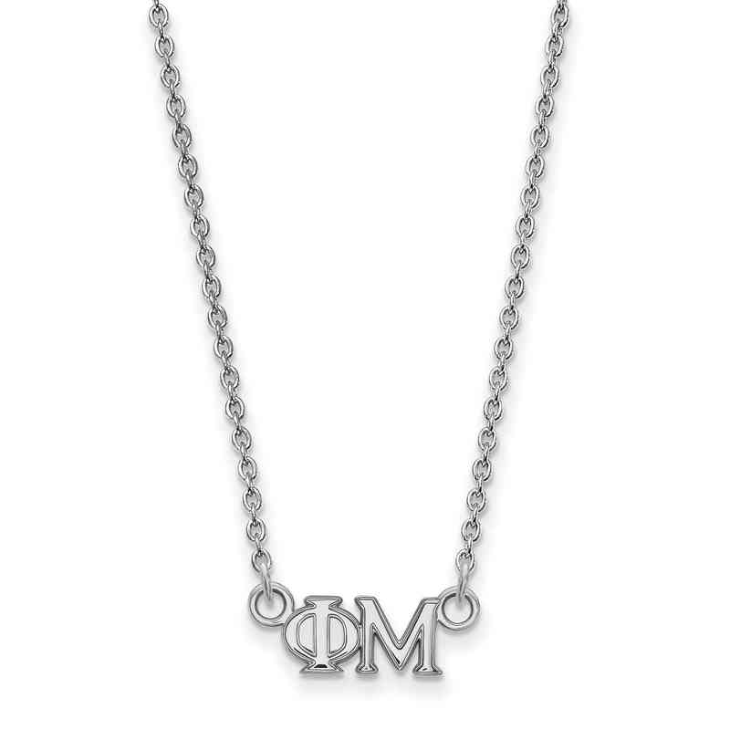 phi mu sterling silver necklace non personalized necklaces