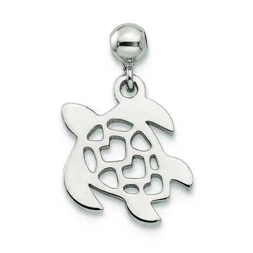 QMM156: 925 Mio Memento Dangle Turtle Charm
