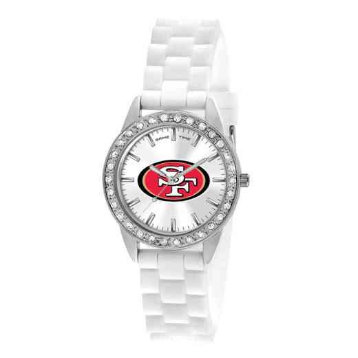 XWL1120: Ladies' NFL Frost Watch - San Francisco 49ers