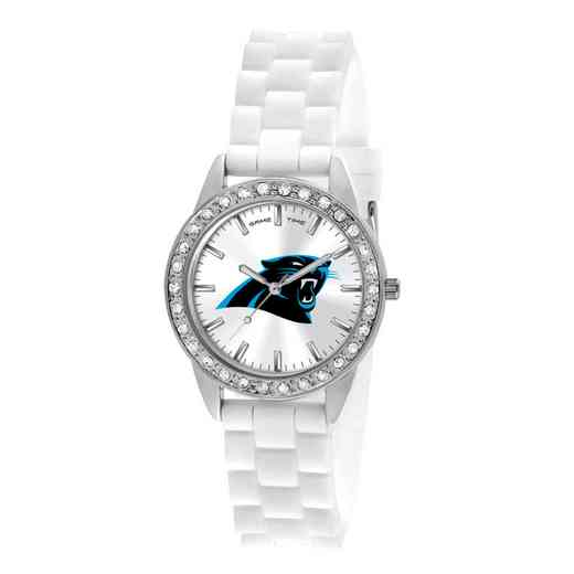 XWL1098: Ladies' NFL Frost Watch - Carolina Panthers