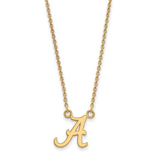 GP015UAL-18: YGP LogoArt Alabama Small Neck - Yellow