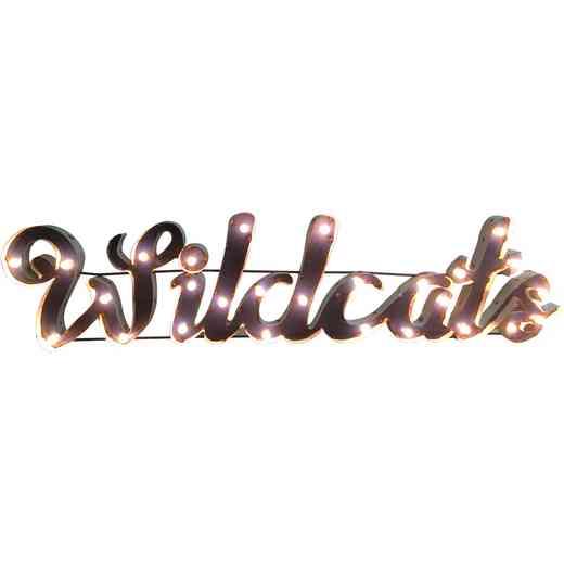 WILDCATSWDLGT: Kentucky Wildcats Metal Décor w/Lights