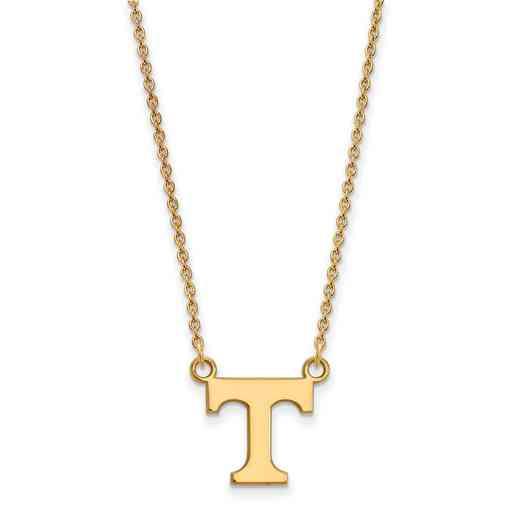 GP015UTN-18: SS YGFP LogoArt Tennessee Small Neck - Yellow
