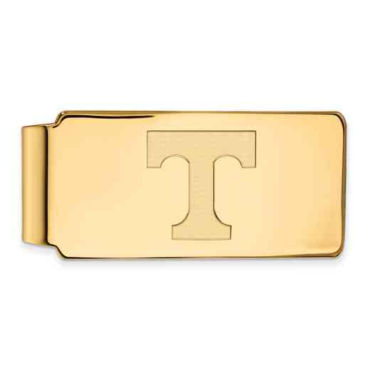 GP025UTN: 925 YGFP Tennessee Money Clip