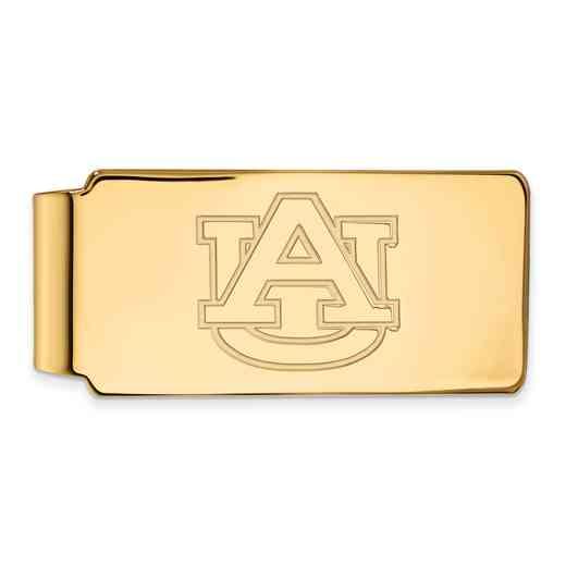 GP025AU: 925 YGFP Auburn Money Clip